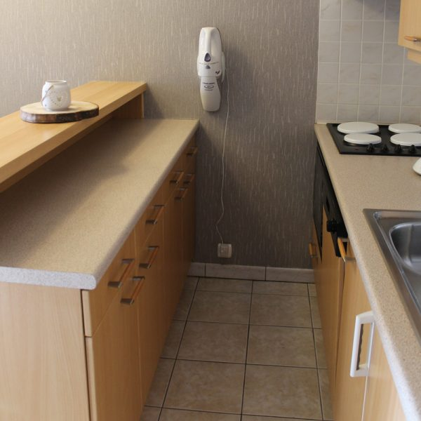 vakantie verhuur appartement Nieuwpoort - keuken