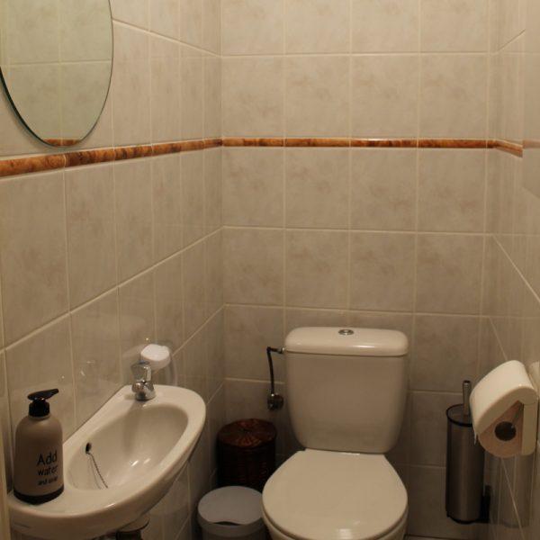 vakantie verhuur appartement Nieuwpoort - apart toilet
