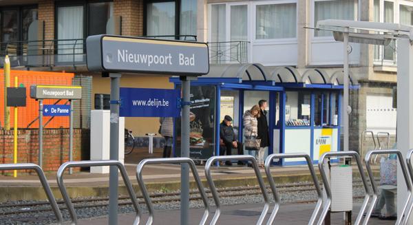 omgeving Nieuwpoort tramhalte