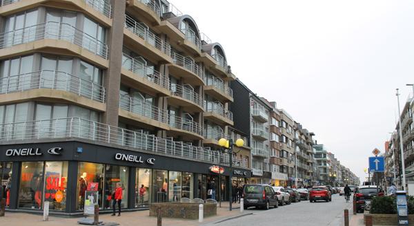 omgeving Nieuwpoort winkelstraat