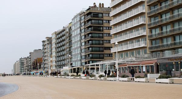 appartement huren in Nieuwpoort aan zee